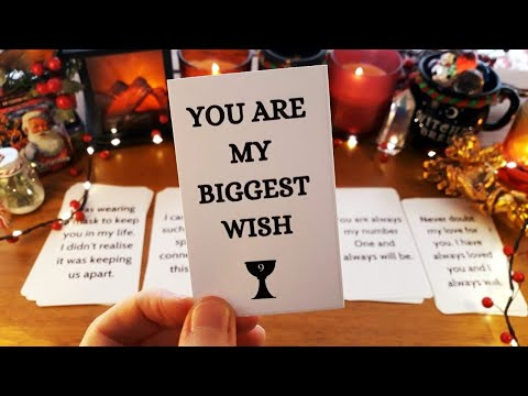 HIS LOVE MESSAGE TO YOU 🥰💌❤️ Pick A Card Love Tarot Reading Soulmate Twin Flame Ex | COSY ASMR