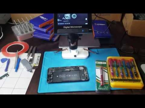 Rainy Day, Doing Some Cell Phone Repairs Today For Big Profits.