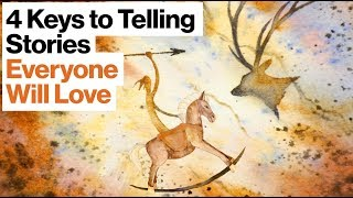 4 Keys to Telling Stories Everyone Will Love, from Cave Paintings to Star Wars | Joe Lazauskas