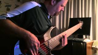 Derek Blakley - Trial of Tears end bass lick cover.