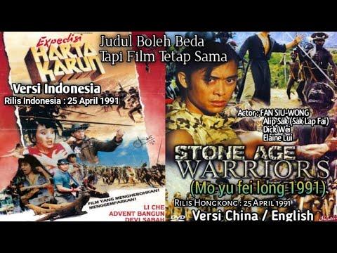Download Stone Age Warriors/Ekspedisi Harta Karun/Mo Yu Fei Long (1991) Sub Indo