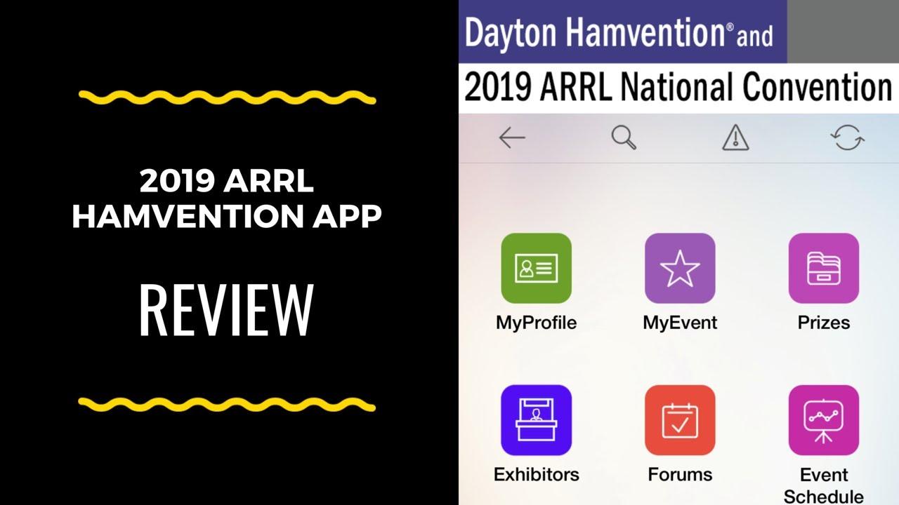 ARRL Hamvention 2019 App Review