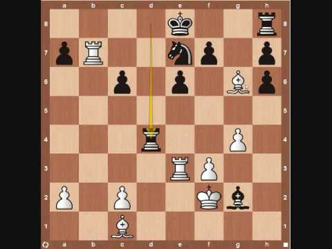 Famous Chess Games: Anand vs Lautier Part 2