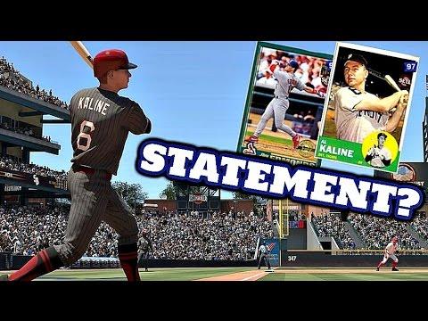 MLB The Show 16 - JIM EDMONDS & AL KALINE STATEMENT GAME?! - Diamond Dynasty #104