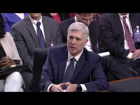 Senator Coons questions Judge Neil Gorsuch, March 22, 2017