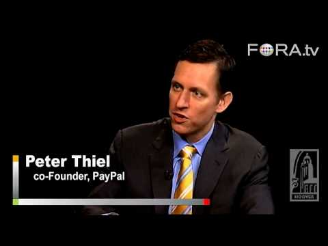 Keeping Faith in the Free Market - Peter Thiel