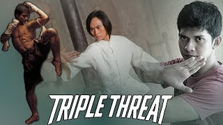 Video Triple Threat Movie (2018) Tony Jaa, Iko Uwais, and Tiger Chen Team-Up! download MP3, 3GP, MP4, WEBM, AVI, FLV Oktober 2018