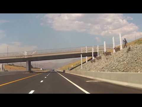 Driving New I-580