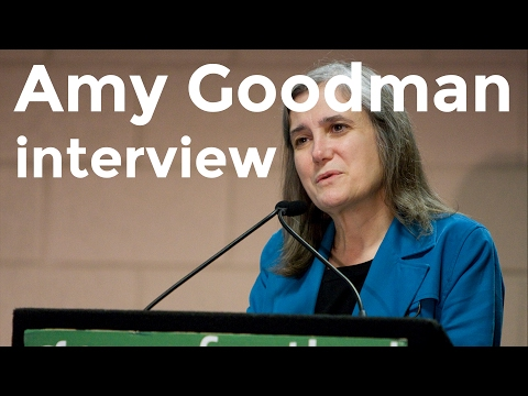 Amy Goodman interview on Charlie Rose (2003)