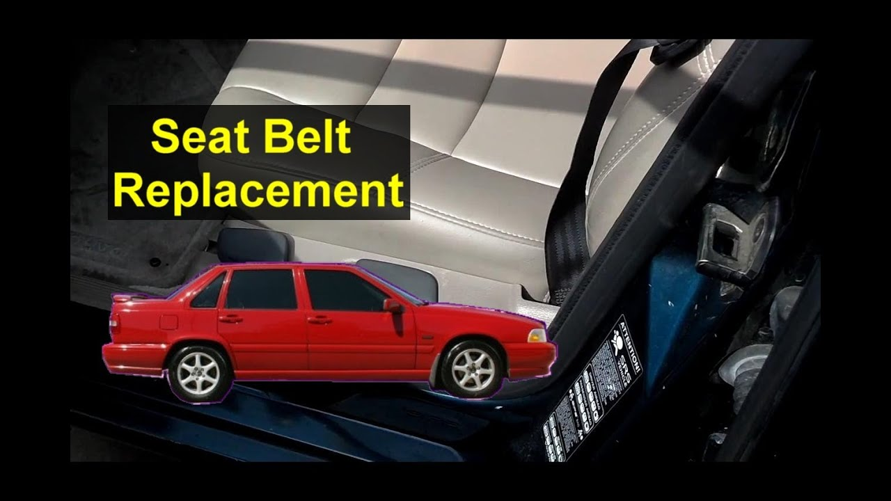 Seat Belt Replacement Volvo S70 V70 Auto Repair Series Youtube