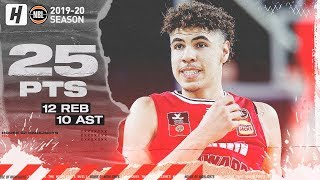LaMelo Ball 4th Back-to-Back Triple-Double Highlights vs New Zealand Breakers 2019.11.30 - TOO GOOD!