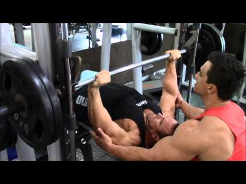 Andrew Hudson Chest training 4 weeks out ASC 2014