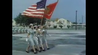 Parade of U.S. Marine Corps Women