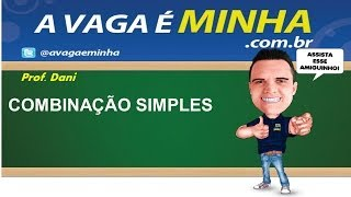 COMBINAO SIMPLES ANLISE COMBINAT RIA