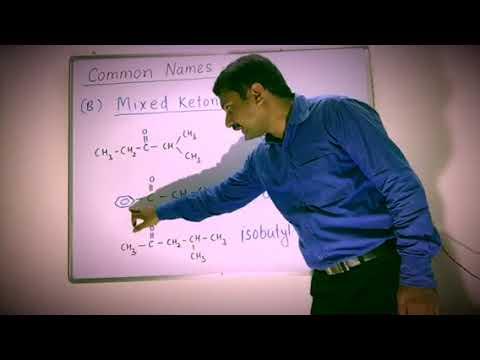 IUPAC & COMMON NAME OF KETONE