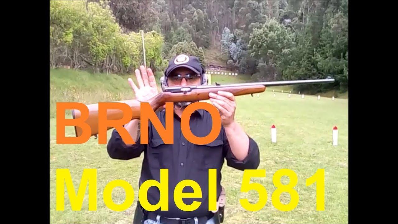 BRNO 581 -Calibre  22 LR