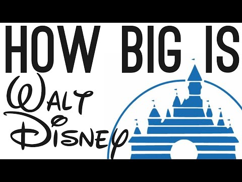 How BIG is Walt Disney? (They Own Marvel)