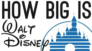 How BIG is Walt Disney? (The Story of Disney)