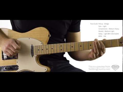 Workin' Man Blues - Guitar Lesson and Tutorial - Merle Haggard