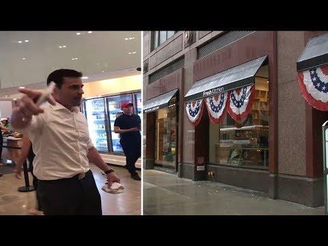 Man faces backlash after racially-charged rant goes viral