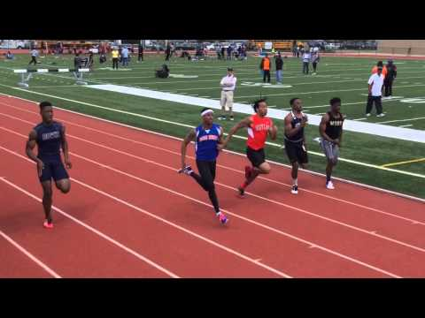 Suitland Track @ Mullins-Russell 15: 100M Dash- Floyd Little