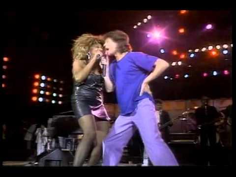 Tina Turner & Mick Jagger Live AID 1985