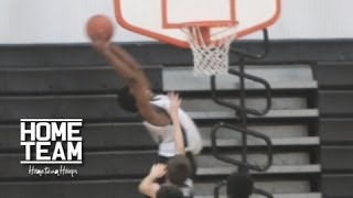 8th grader justin gandy throw down the oop at best of the best middle school camp