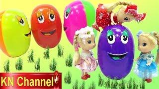 Đồ chơi trẻ em Bé Na Bóc trứng bất ngờ HẠT ĐẬU THẦN  Surprise egg Kids toys phần 2