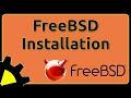 FreeBSD Installation - Erklärt für Einsteiger!