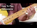 Download 'Deliverance' Prince Guitar Lesson MP3 song and Music Video