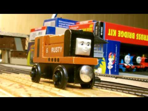 Thomas Character Profiles: Rusty the Little Diesel