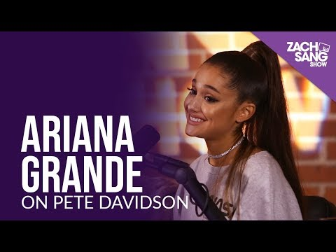 Ariana Grande Talks Engagement to Pete Davidson