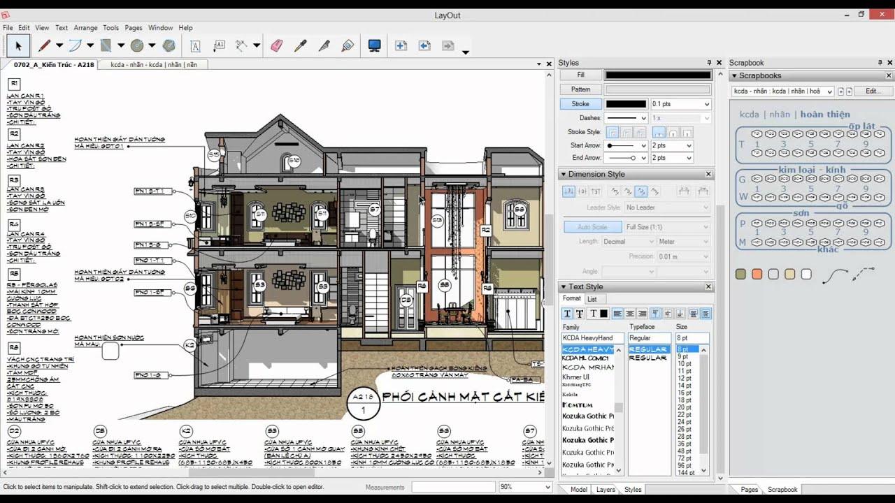 Floor Plans In Sketchup Layout