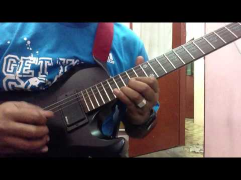 Wali cinta gitar solo slow motion