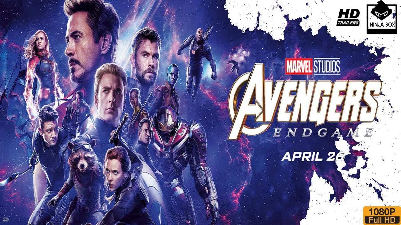 Avengers 4 Endgame Official Trailer in English full movie trailer in HD