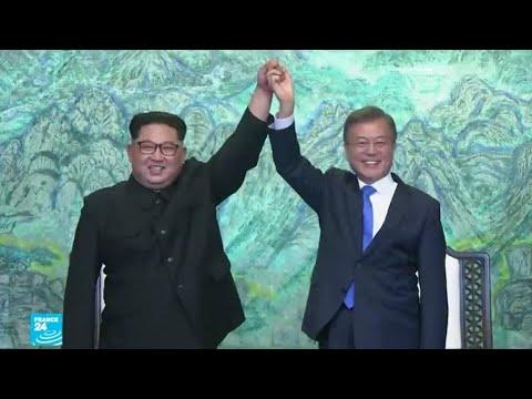 رئيس كوريا الجنوبية يزور الشمال لإنعاش المحادثات حول نزع السلاح النووي  - نشر قبل 4 ساعة