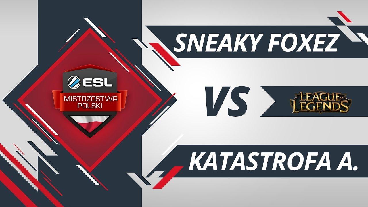 Sneaky Foxez vs Katastrofa Awionetki | EMP LoL W6D1 Gra #2