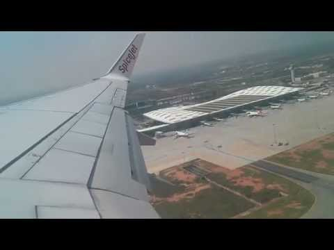 Taking off from Bangalore Airport