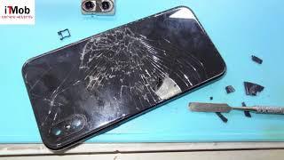iPhone X Замена заднего стекла / iPhone X Back Glass Replacement [iTMob Service]
