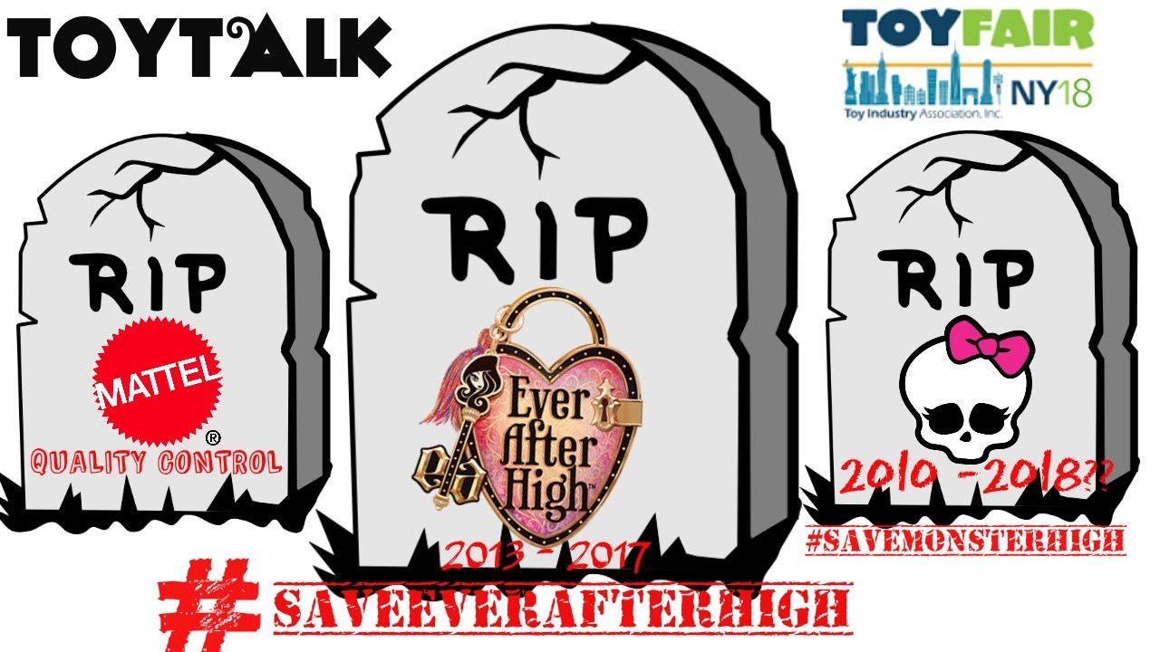 new york toy fair 2017 ever after high cancelled monster high