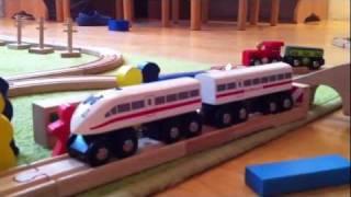 Wooden Railways Thomas Holzschienen Zug ICE