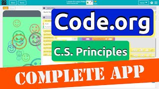 Code.org Lesson 8 Loops Lock Screen Maker App | Tutorial with Answers | Unit 5 CS Principles