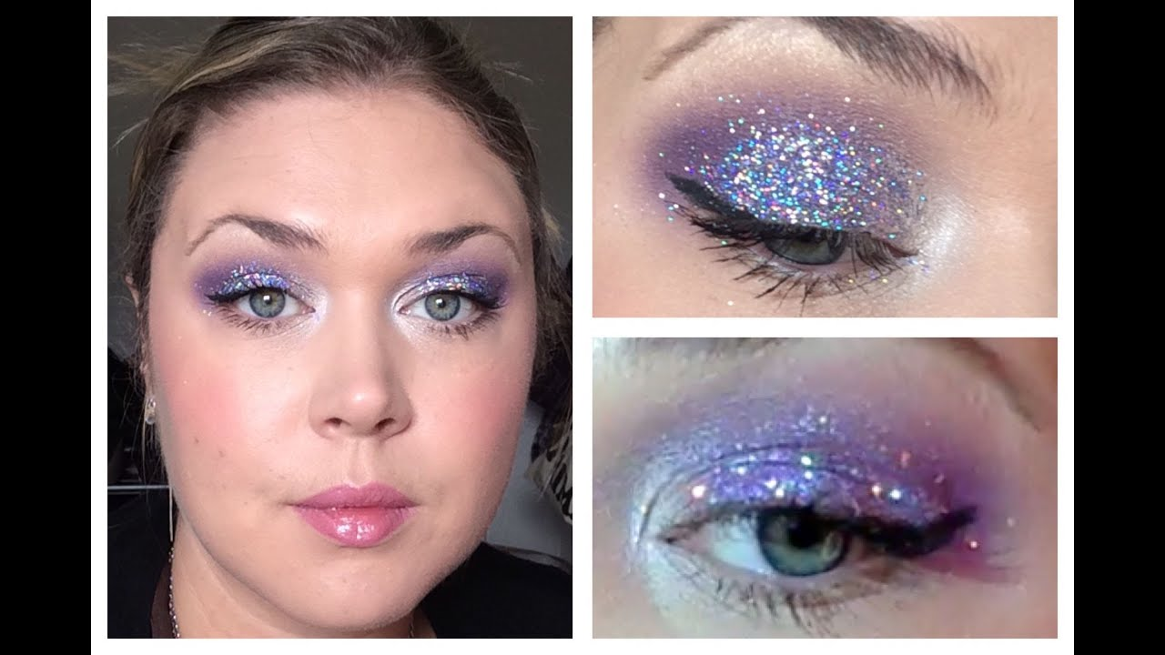 3d Glitter Look Using Some Imats Purchases Mac Cosmetics