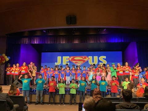Superhero - New Harvest Christian School - Talent Show