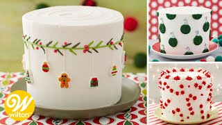 3 Easy Christmas Cakes | Wilton
