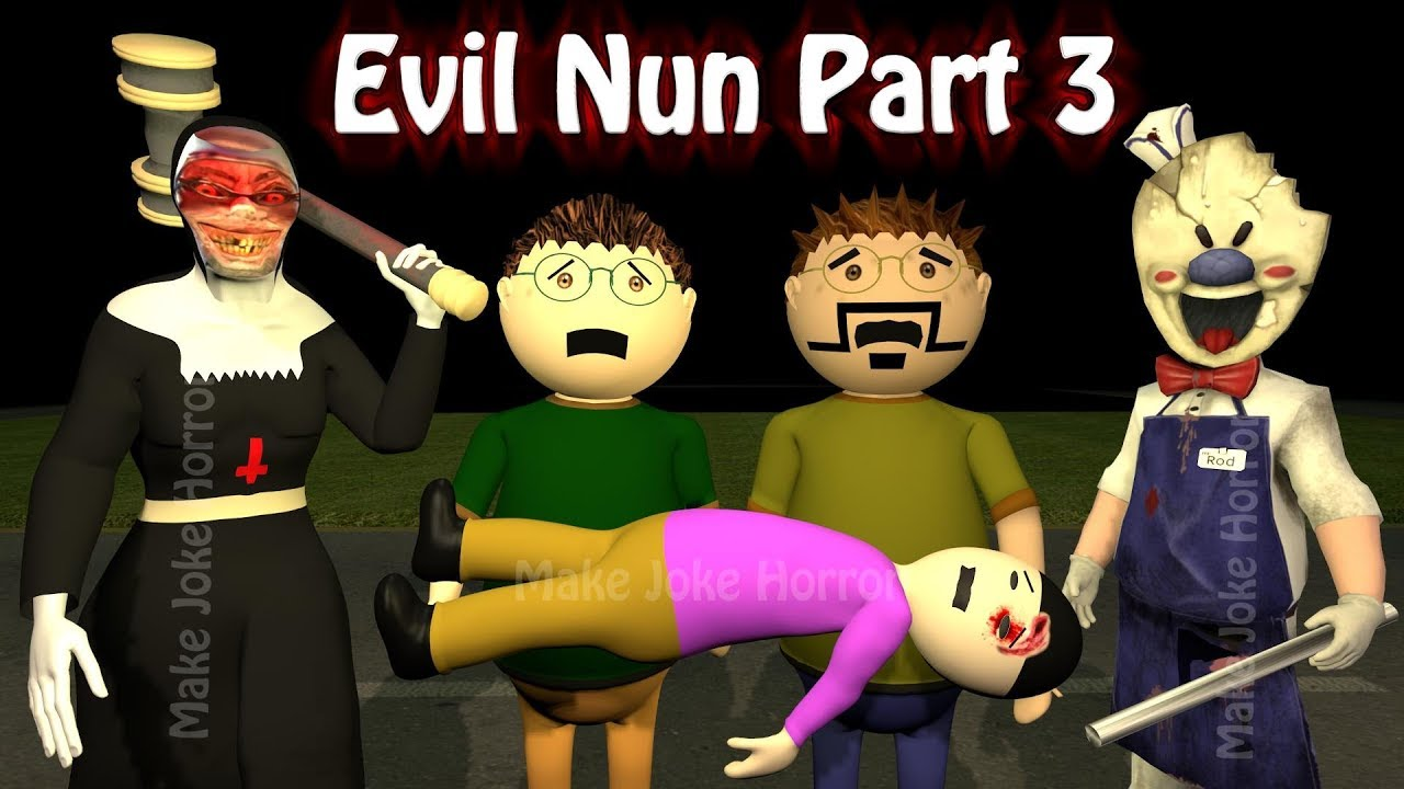 Evil Nun Horror Story Part 3 | Android Game Apk | Horror Movies 2020 | Make Joke Horror