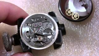 How I install third wheel on watch, Gruen Precision Autowind 25 jewels
