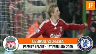 Premier League Liverpool 2-0 Chelsea 2009