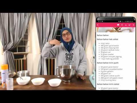 Live Kek Chocolate Indulgence dengan Cik Ain