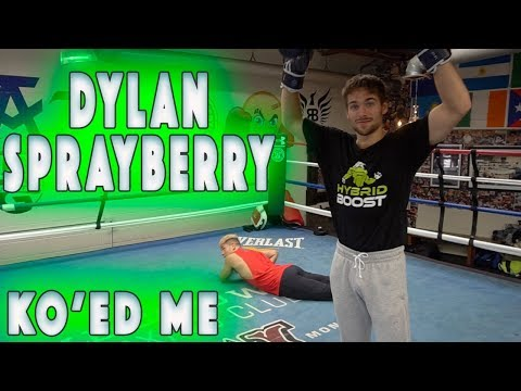 DYLAN SPRAYBERRY KNOCKED ME OUT